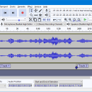 Audacity for Linux screenshot