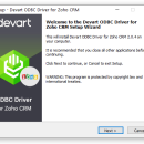 ODBC Driver for Zoho CRM screenshot