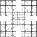Free Printable Samurai Sudoku on Samurai Sudoku Download   100 Printable Expert Samurai Sudoku Puzzles