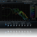 Blue Cat's FreqAnalyst Multi for Mac OS X screenshot