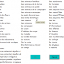 Advanced French Vocabulary Trainer screenshot