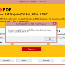 PST from Outlook to PDF screenshot