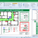 Fluchtplan Creator screenshot