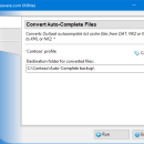 Convert Auto-Complete Files for Outlook screenshot