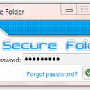 Portable Secure Folder screenshot