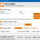 Outlook 2007 MBOX Export Tool screenshot