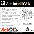 Act IntelliCAD Professional 64 Bit screenshot