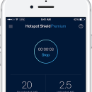 Hotspot Shield VPN for iOS screenshot