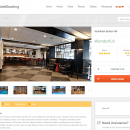 uHotelBooking web reservation system screenshot