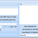 HTML Search Multiple Files At Once Software screenshot