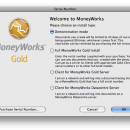 MoneyWorks Gold screenshot