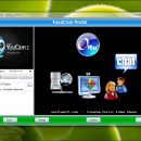 SSuite FaceCom Portal screenshot