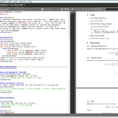 Texmaker for Linux screenshot