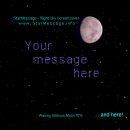 StarMessage Moon Phases screensaver screenshot