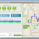 Free Route Planner MyRouteOnline screenshot
