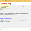 Zimbra to Outlook 2013 screenshot
