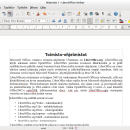 LibreOffice for Linux screenshot
