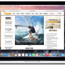 Safari for Mac OS X screenshot