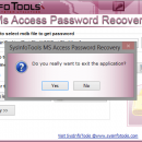 SysInfoTools MDB Password Recovery screenshot