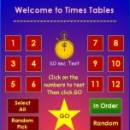 Times Tables screenshot