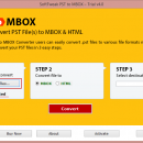 Convert PST file to MBOX file format screenshot