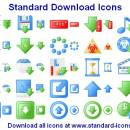 Standard Download Icons screenshot
