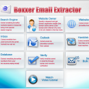 Boxxer Email/Phone/Fax Extractor screenshot