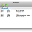 Keylogger for Mac OS X screenshot