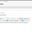 News Module for Directy CMF screenshot