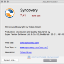 Syncovery for Mac screenshot