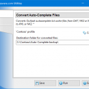 Convert Auto-Complete Files screenshot