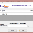 Datavare Outlook Password Recovery screenshot