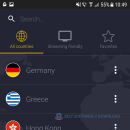 CyberGhost VPN Basic for Android screenshot