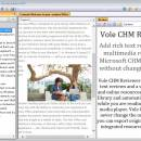 Vole CHM Reviewer screenshot