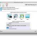 321Soft USB Flash Recovery for Mac screenshot