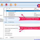 Instant Data Care NSF to PST screenshot