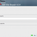 SysInfo ZIP file Recovery Tool screenshot