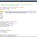 Devart T4 Editor for Visual Studio 2008 screenshot
