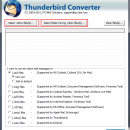 Thunderbird Email Migration to Outlook screenshot