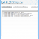Print EML Files to PDF screenshot