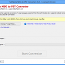 Move .msg files into PST screenshot