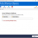 MDaemon Mailbox Migration to Outlook screenshot