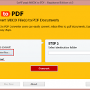 Export MBOX emails to PDF screenshot