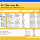 BKF Recovery Software screenshot