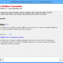 Zimbra to Exchange 2013 Migration Tool screenshot