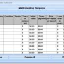 Excel Equipment Inventory List Template Software screenshot
