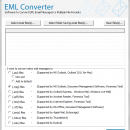 EML Converter for MBOX screenshot